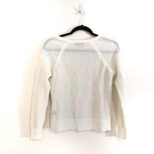 rag & bone Sweaters - Rag & Bone Open Mesh Knit Shelby Sweater
